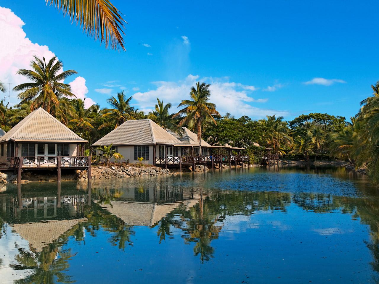 Unique Sleeps: Musket Cove Island Resort and Marina, Fiji
