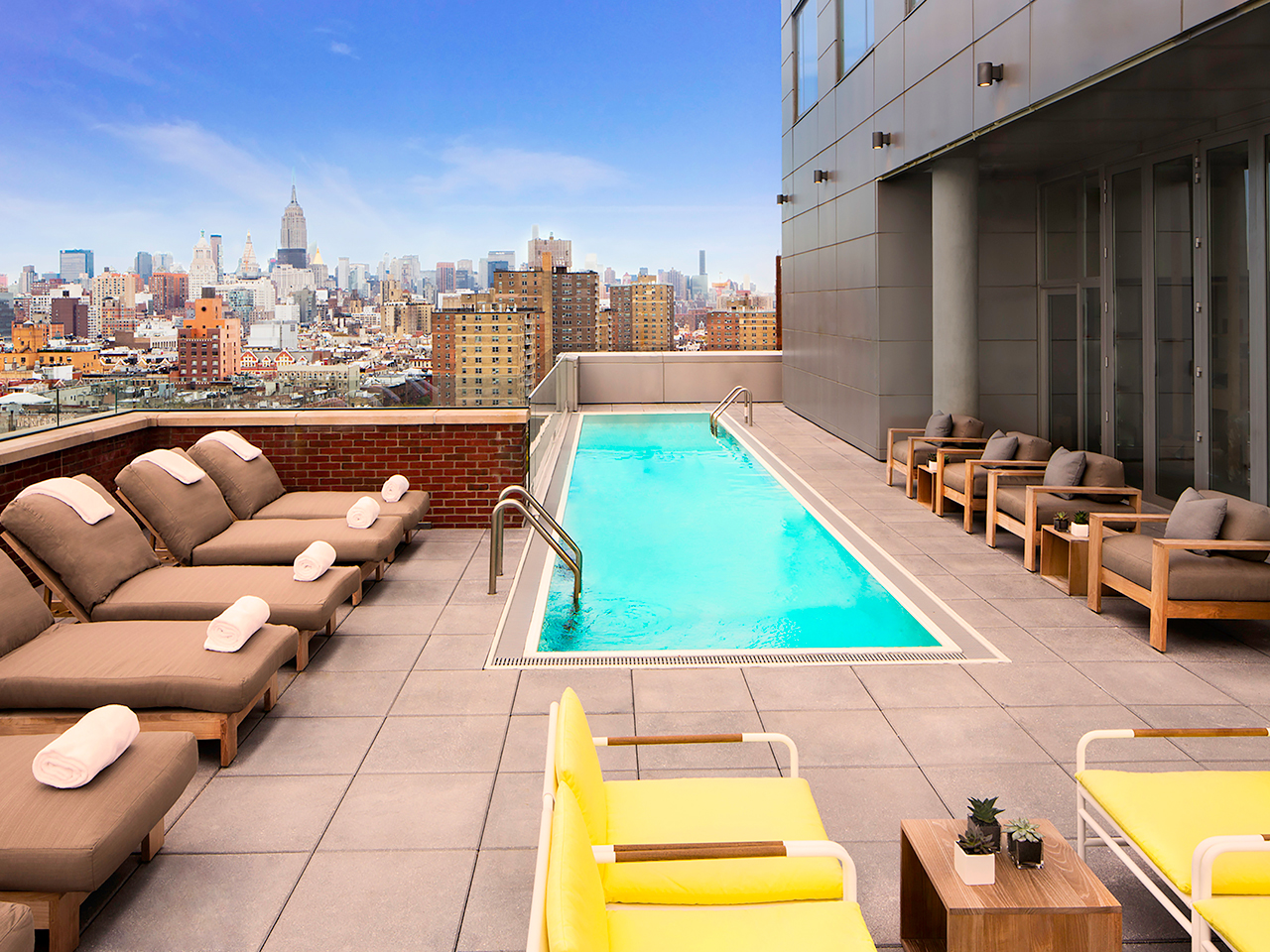 Nyc S 10 Coolest Rooftop Pools Out There Starts Here