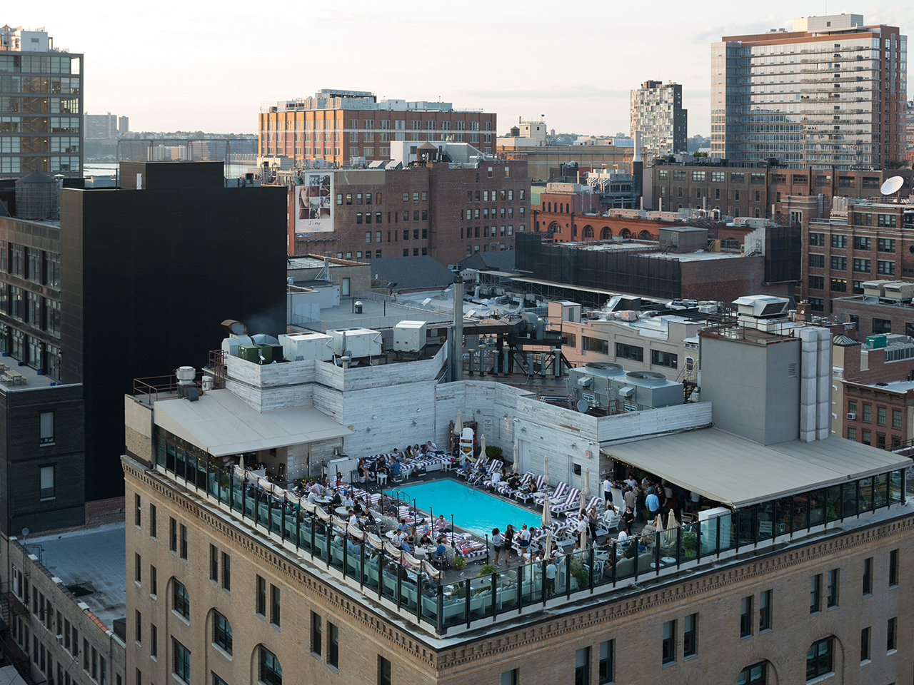 NYC's 10 coolest rooftop pools