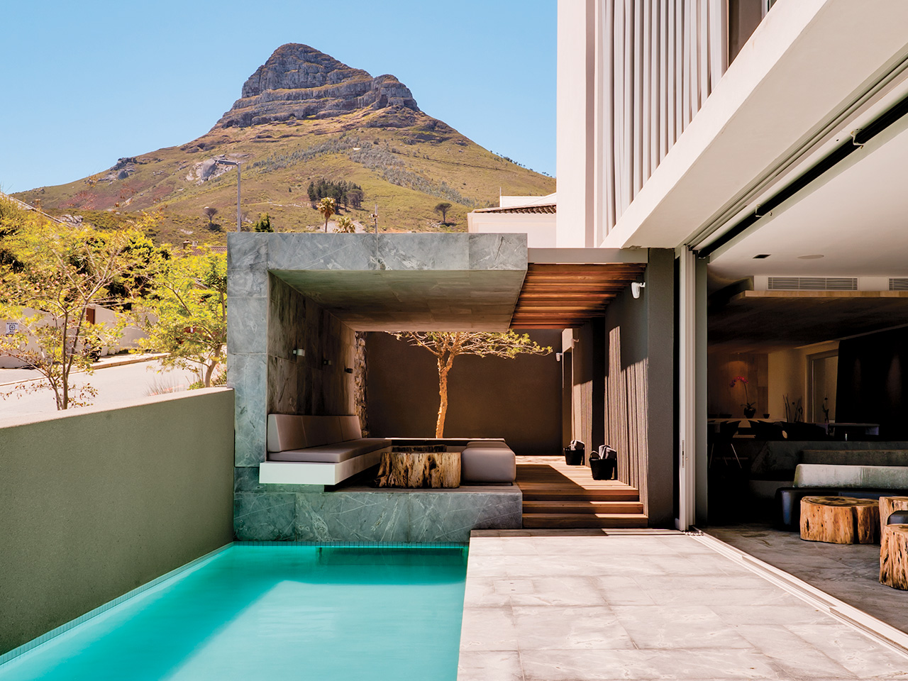 Unique Sleeps: POD Camps Bay, Cape Town South Africa