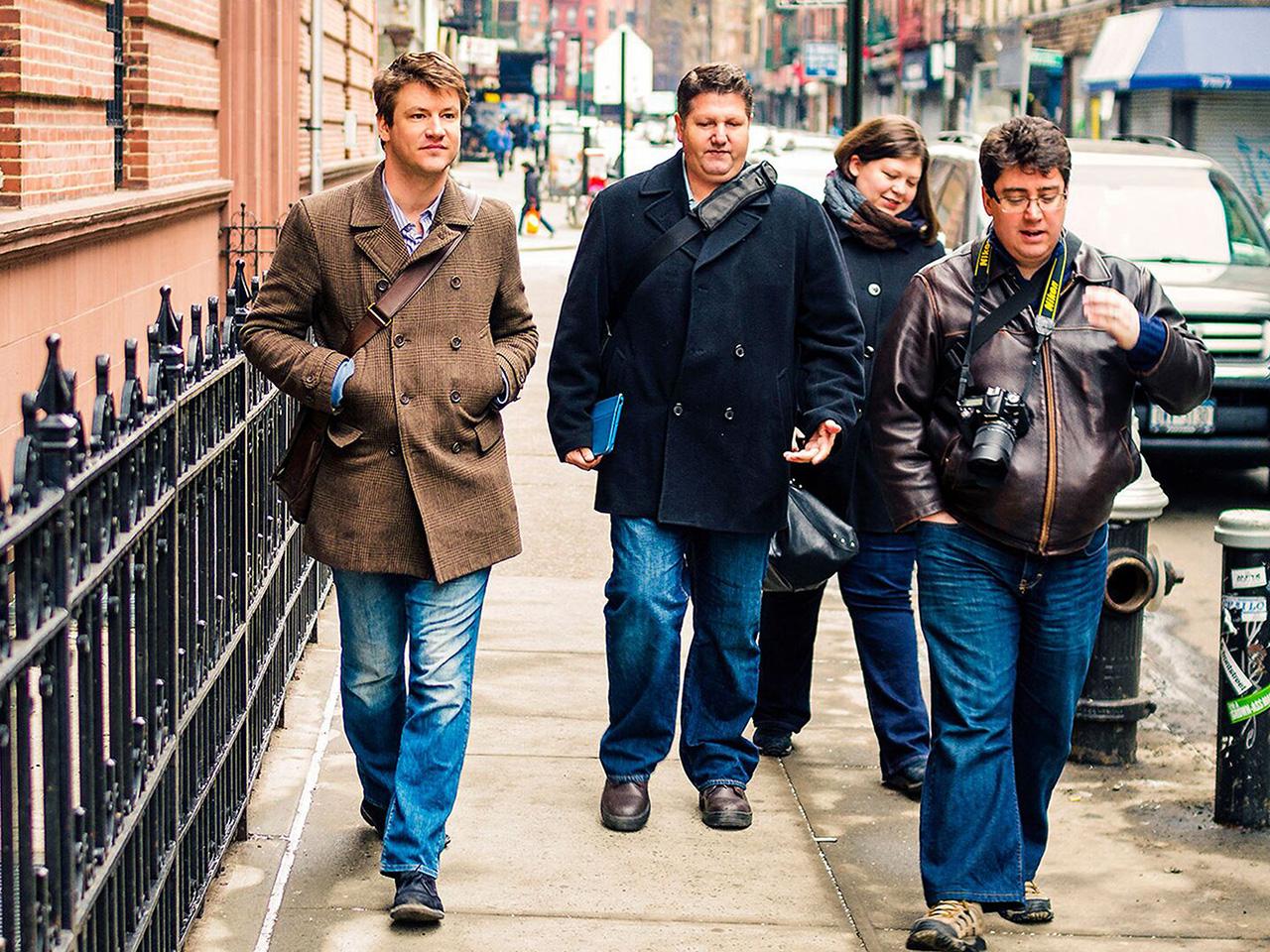 Walking tour in NYC