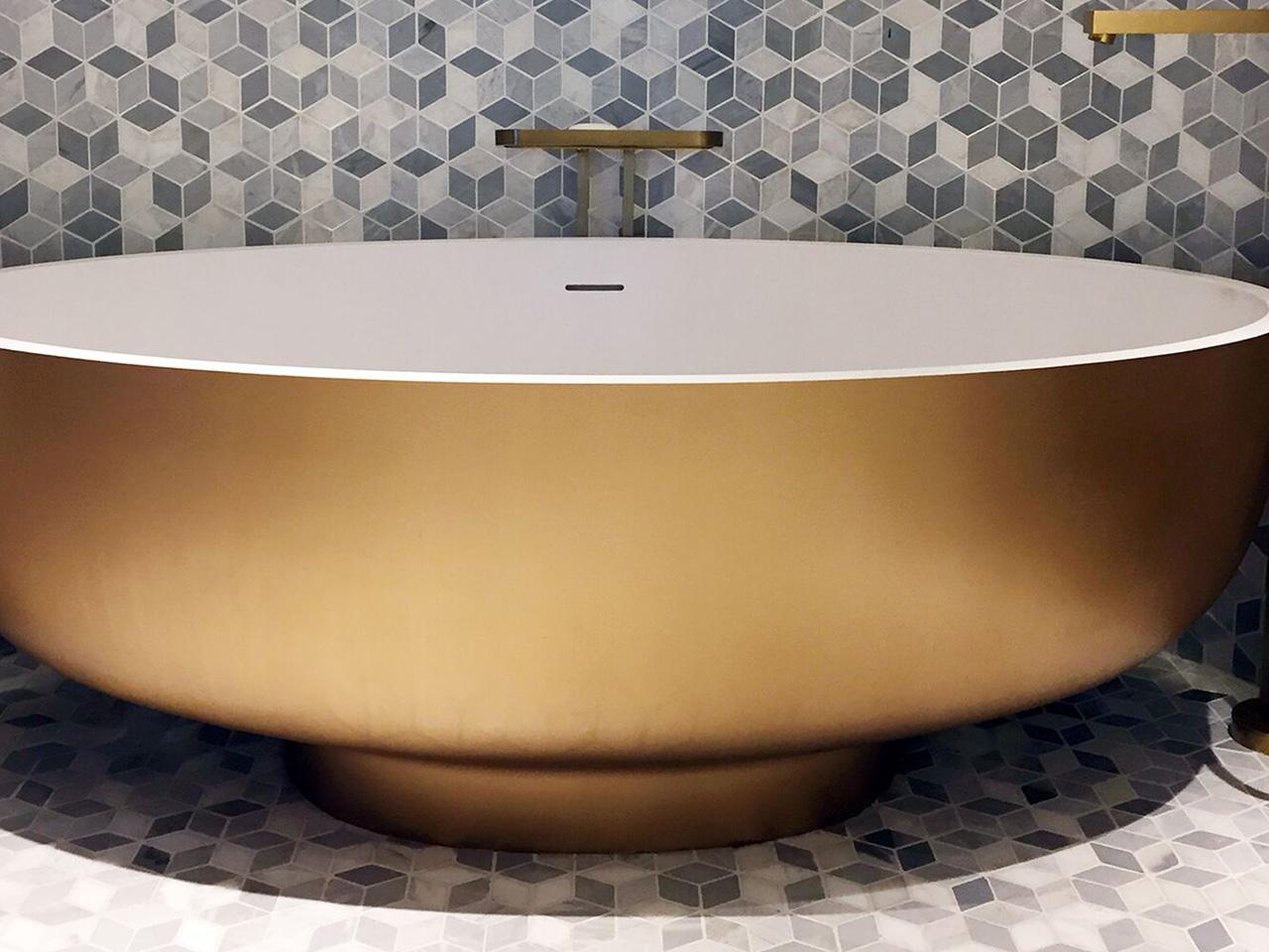 Viceroy The Palm gold bath