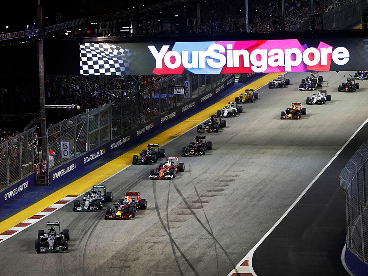 Singapore F1 signage