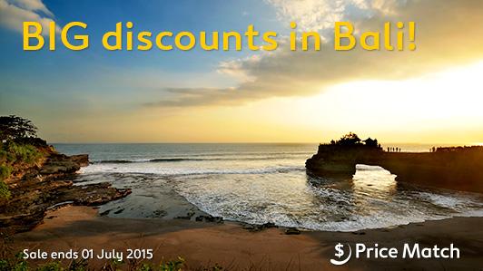 Big discounts in Bali at Expedia.com.au
