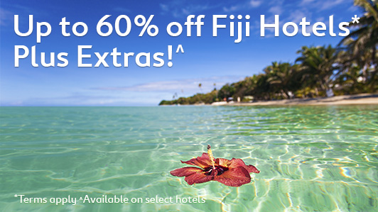 Save up to 60% off on Fiji hotels sale at Expedia.com.au