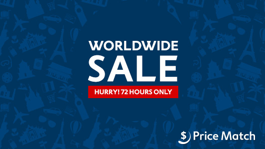 Worldwide just for 72 hours hotel sale on now at Expedia.com.au