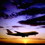 International airplane