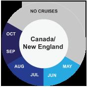 Canada/New England cruise info