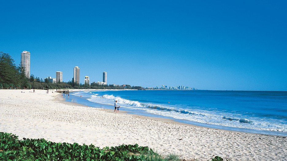 burleigh beach burleigh heads queensland attraction