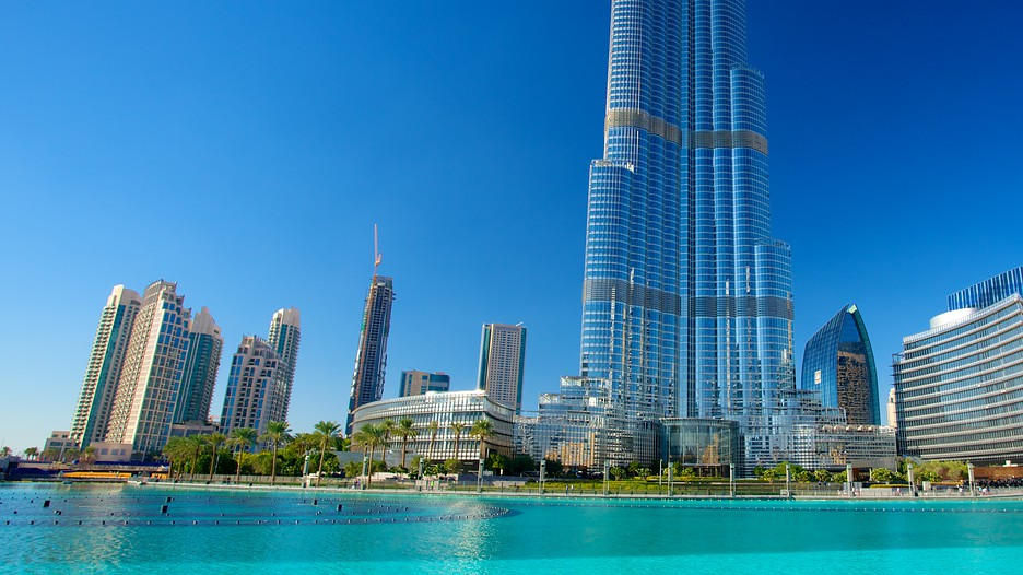 Burj khalifa in dubai for Dubai hotels near burj khalifa