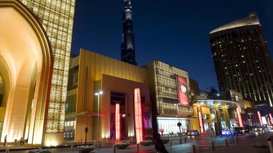 Dubaï Mall le plus grand centre commercial au monde!