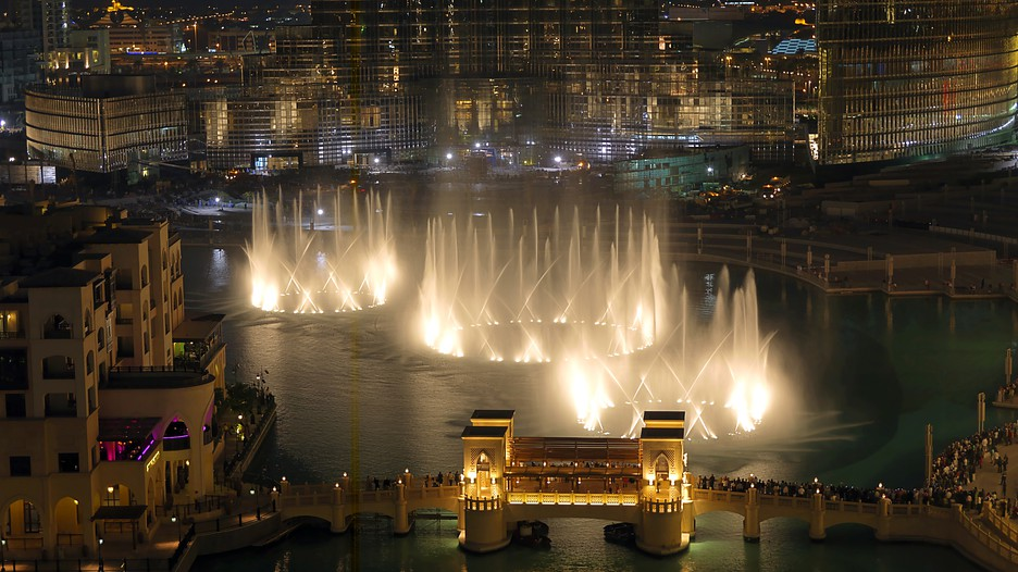 Dubai Fountain - Dubai - Photo: the Government of Dubai, Department ...
