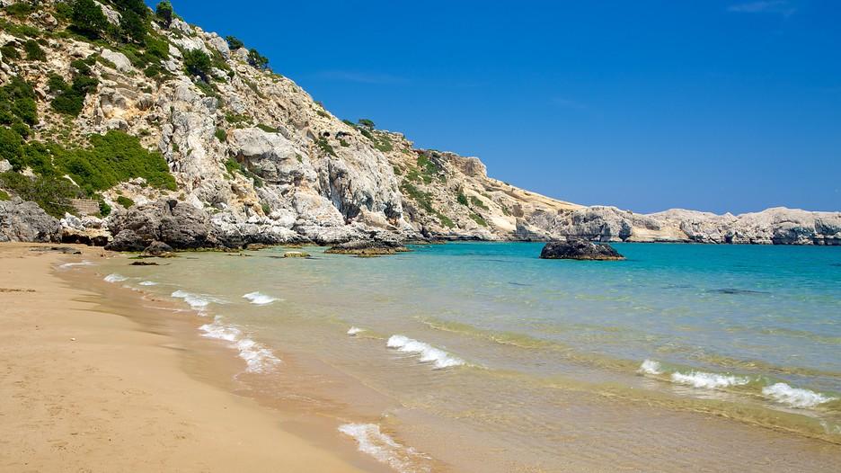 Tsambika Beach In Rhodes Expedia