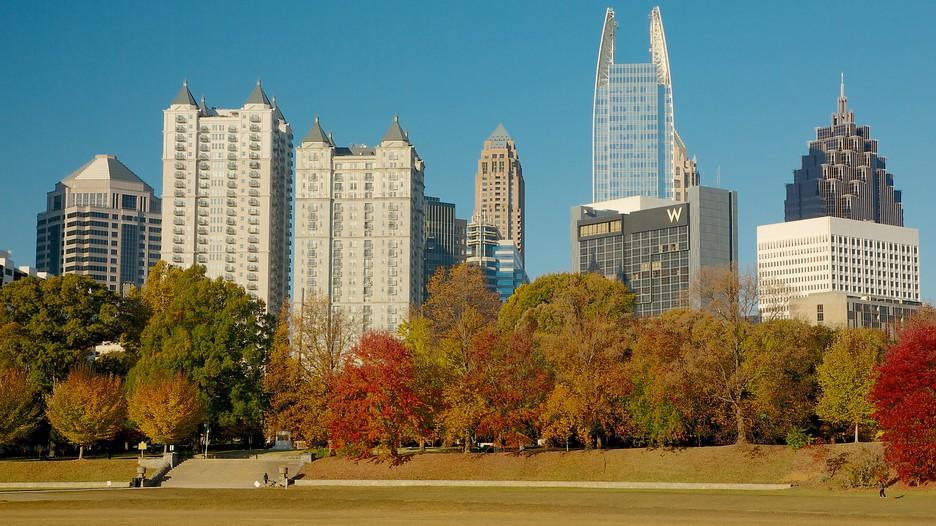 Piedmont Park In Atlanta Georgia