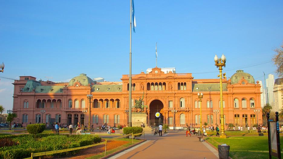 Casa rosada in buenos aires expedia for Casa argentina