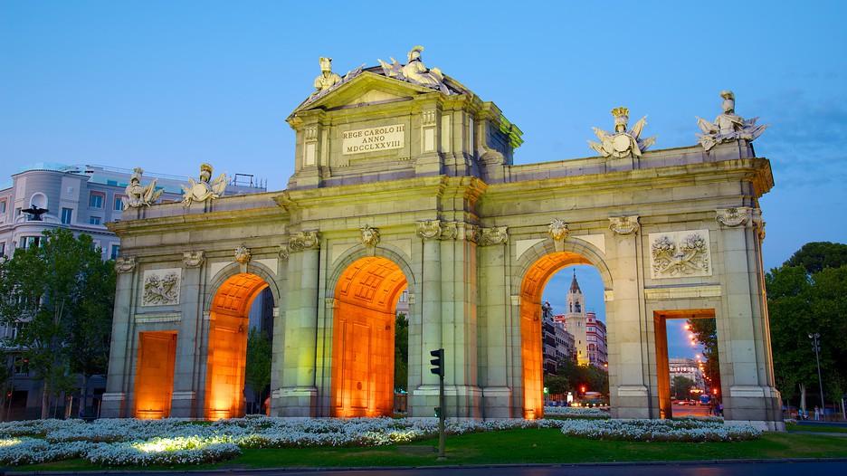 Puerta De Alcala In Madrid Expedia