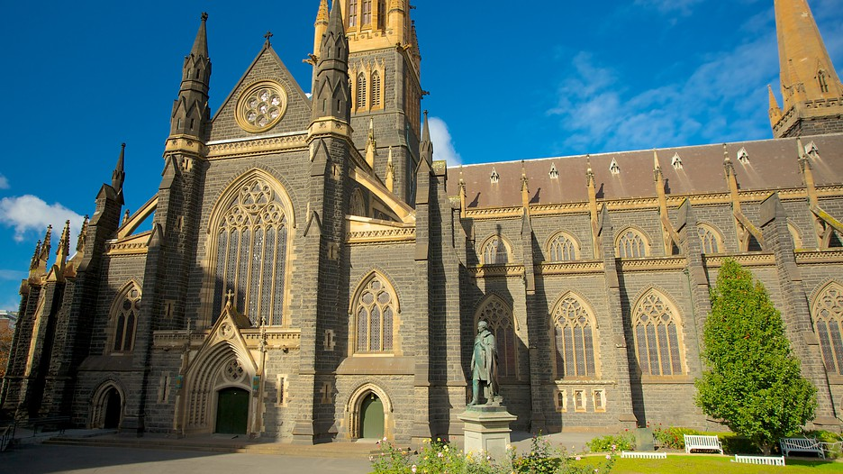 St Patrick S Cathedral Melbourne Victoria Attraction