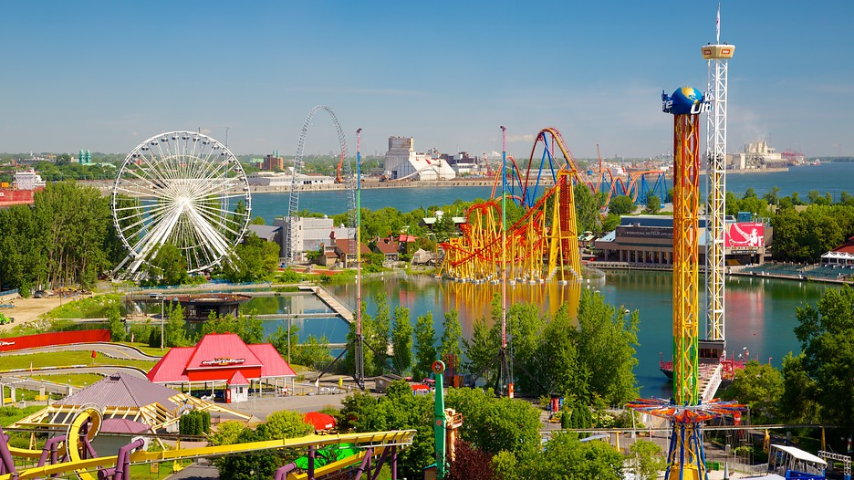 la ronde six flags in montreal quebec. Black Bedroom Furniture Sets. Home Design Ideas