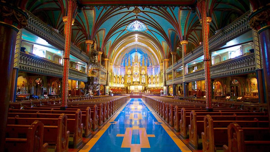 Notre Dame Basilica in Montreal, Quebec | Expedia.ca