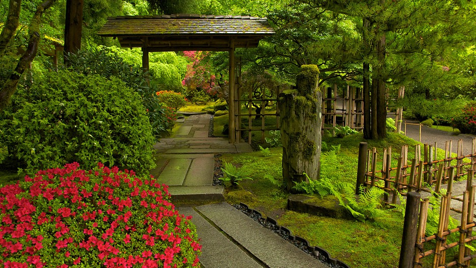 Portland japanese garden in portland oregon expedia for Portland japanese garden admission
