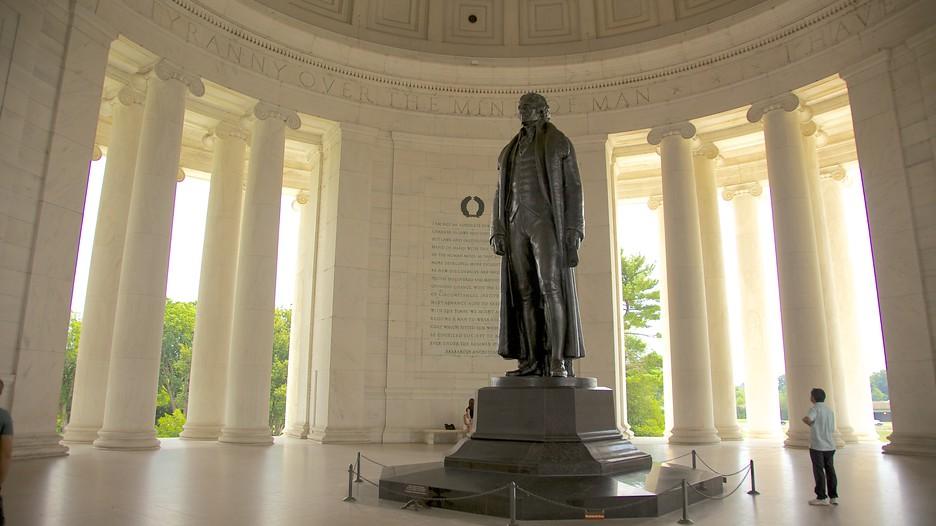 Jefferson Memorial In Washington District Of Columbia
