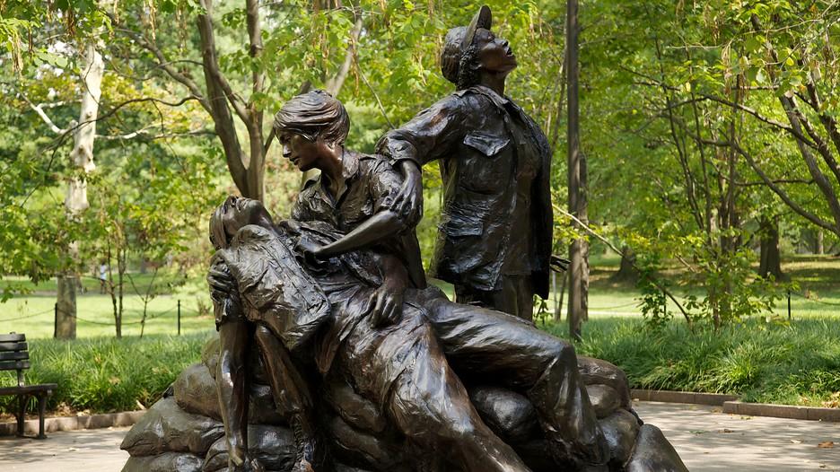 Vietnam Veterans Memorial In Washington District Of