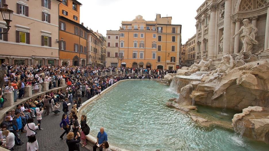 Fontaine De Trevi D 233 Couvrez Rome Avec Expedia Fr
