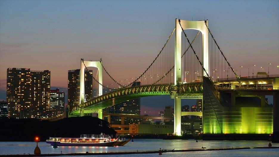 Pont de l'Arc-en-ciel : Découvrez Tokyo avec Expedia.fr