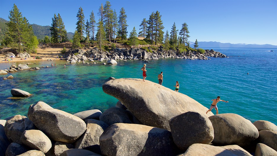 Sand Harbor In Lake Tahoe Nevada Expedia Ca