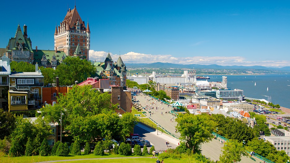 Parks canada 39 s dufferin terrace in quebec quebec for Terrace canada