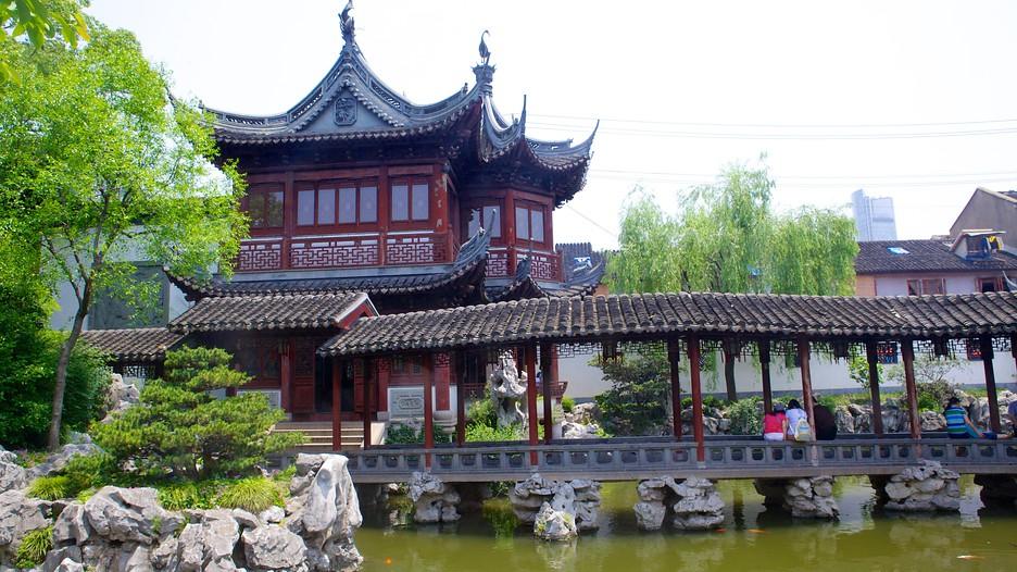 Yu yuan garden in shanghai expedia for Jardin yu shanghai
