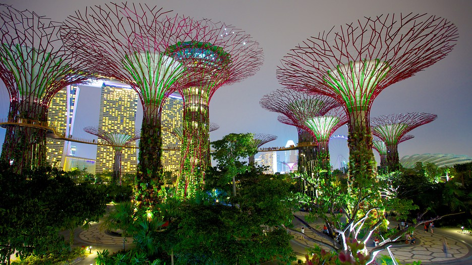 Gardens by the bay singapore attraction for Au jardin singapore sunday brunch