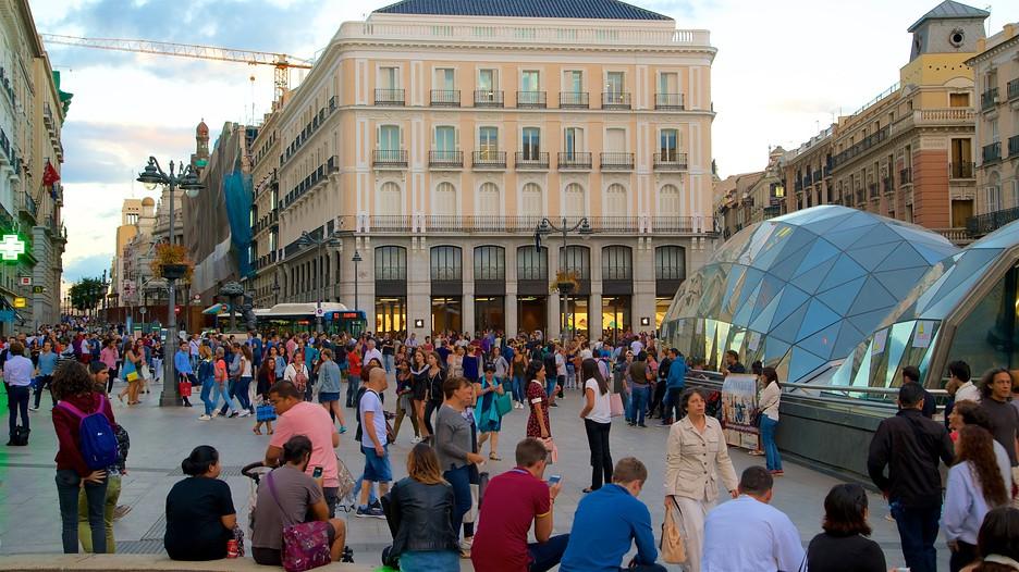 Puerta Del Sol In Madrid Expedia