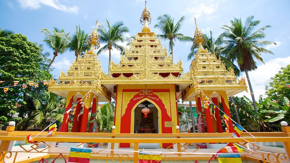Dhammikarama Burmese Buddhist Temple in Penang,  Expedia