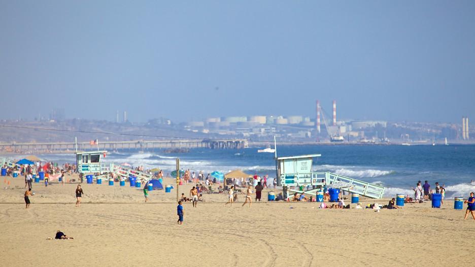 Cafes Santa Monica Beach