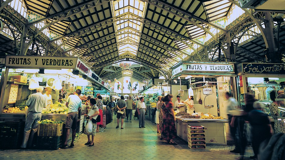 Mercado Central in Valencia - Expedia.de