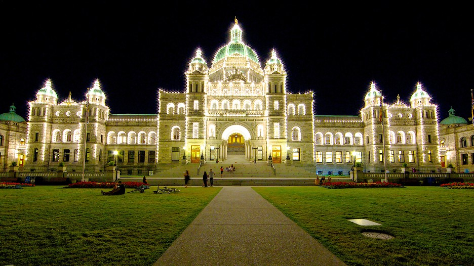 British columbia parliament building in victoria british for Garden shed victoria bc