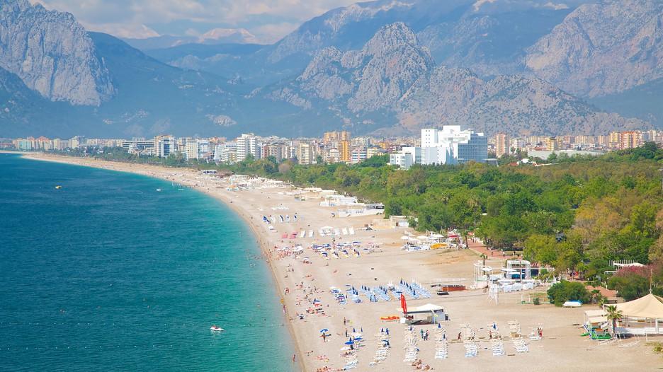 Konyaalti Beach Park In Antalya
