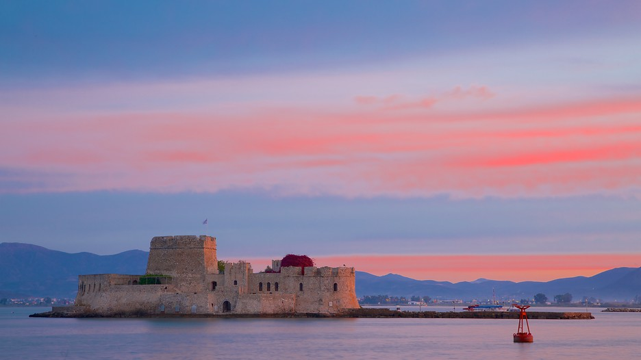 Castle of Bourtzi in Nafplio,  Expedia