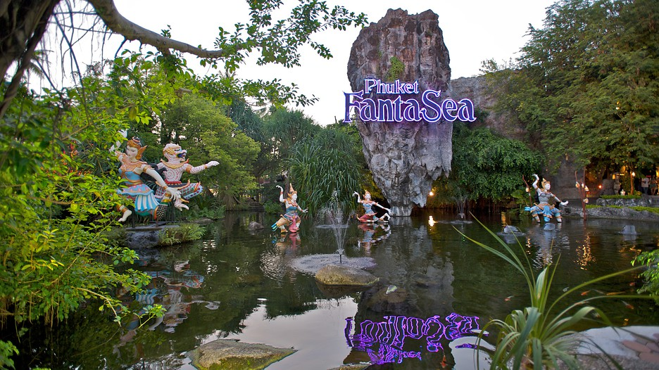 kamala beach amusement park phuket fantasea