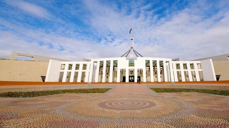 Parliament house in canberra australian capital territory for Architecture firms canberra