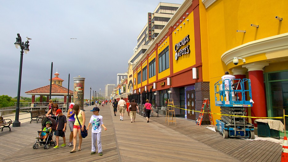 Atlantic City Boardwalk Hotels Harrahs