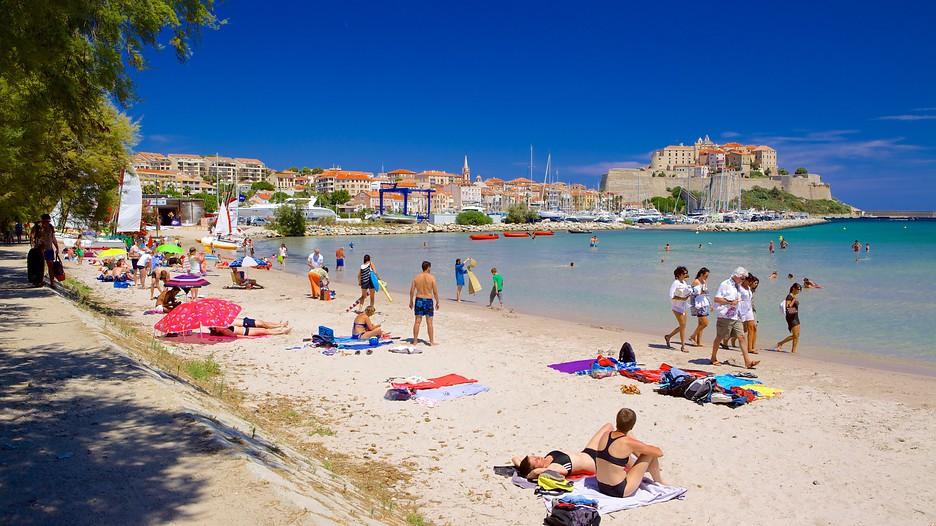calvi beach   calvi   tourism media