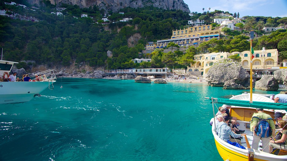 Marina Piccola in Capri,