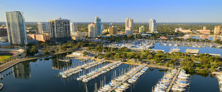 Image of St. Petersburg Florida.