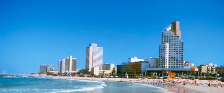 Downtown Tel Aviv hotels