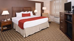 Egyptian cotton sheets, pillowtop beds, in-room safe, desk