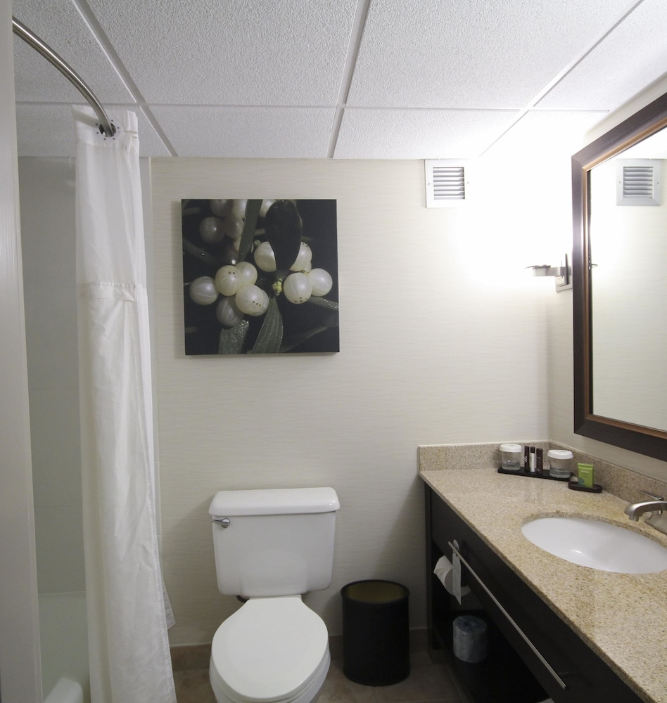 Bathroom, Embassy Suites Oklahoma City Will Rogers Airport