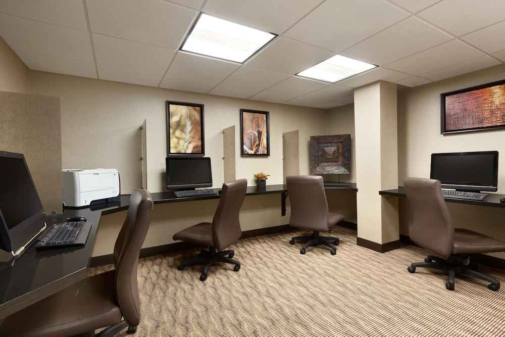 Business Center, Embassy Suites Oklahoma City Will Rogers Airport