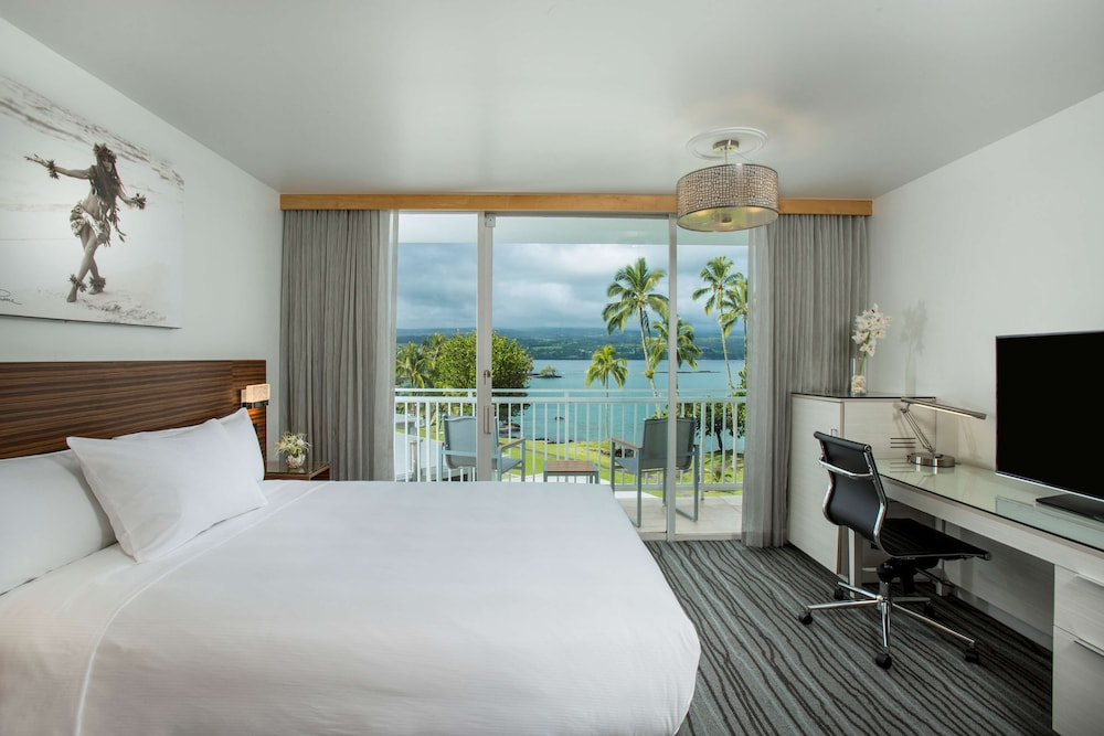 View from Room, Grand Naniloa Hotel Hilo - a Doubletree by Hilton